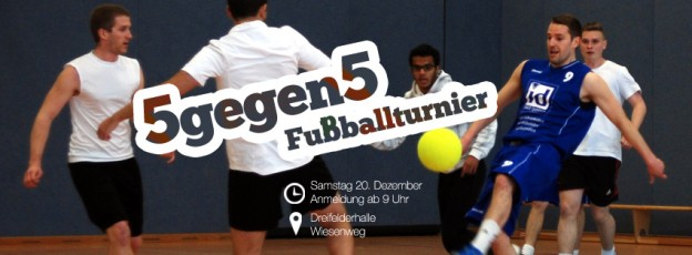 5gegen5 – Fußballturnier